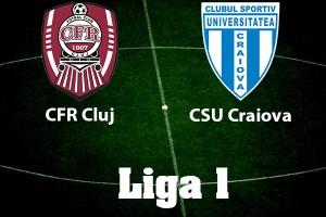 Liga 1, etapa 17. CFR Cluj – CS U Craiova