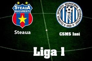 Liga 1, etapa 17. Steaua - CSMS Iasi