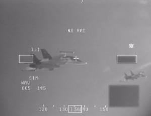 Cum interceptează NATO un avion militar rus