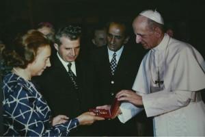 STENOGRAMA convorbirii dintre Ceauşescu şi Papa Paul al VI-lea