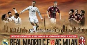Real Madrid - AC Milan, meci amical