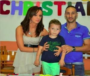 Paula Corduneanu, în vârstă de 28 de ani, a decis să se separe de soțul ei, Daniele Antognoni (38 de ani), cu care avea un băiat de 5 ani, Christian