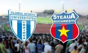 Cupa României, sferturi: CS U Craiova vs Steaua