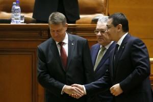 Iohannis l-a invitat pe Ponta la Cotroceni (foto agerpres.ro)