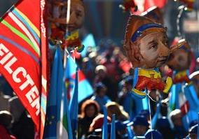 GREVĂ GENERALĂ și manifestații în Italia.