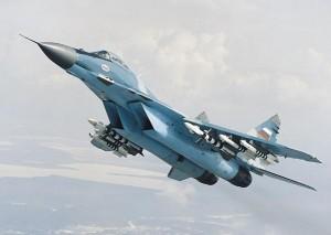 Un avion MiG-29 s-a prăbuşit la Moscova.