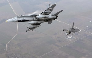 Avioanele militare rusești trimise în Marea Baltica, monitorizate de SUA și NATO
