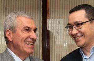 Ponta s-a întâlnit cu Tăriceanu.
