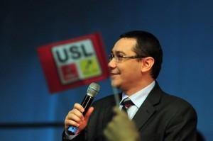 Preşedintele PSD, Victor Ponta.