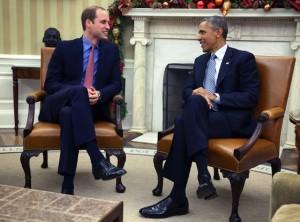 Prințul William la Casa Albă. Ce a discutat cu Obama (foto:eonline.com)