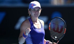 Australian Open. Simona Halep - Yanina Wickmayer