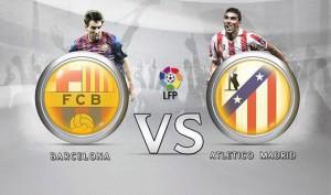 Primera Division. Barcelona - Atletico Madrid