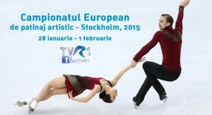 Campionatul European de Patinaj Artistic 2015. Programul transmisiilor TV
