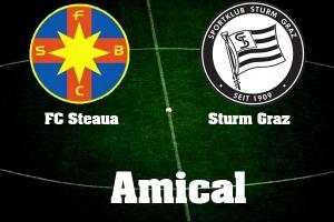Steaua - Sturm Graz, amical