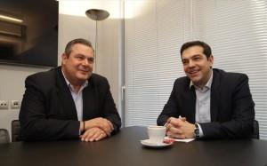 Panos Kammenos si Alexis Tsipras
