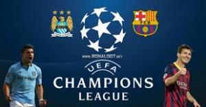 Champions League. Man City - Barcelona
