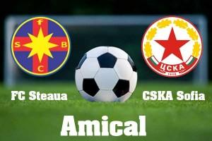 Steaua – CSKA Sofia, amical (live video)