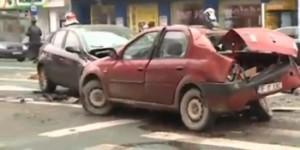 Grav accident în Piața Romană din Capitală: Doi oameni au murit și alți șase au fost răniți