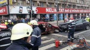 Accident Piata Romana Foto