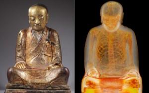 buddha statuie calugar