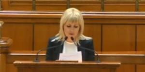 Ultima declaraţie a Elenei Udrea în Parlament
