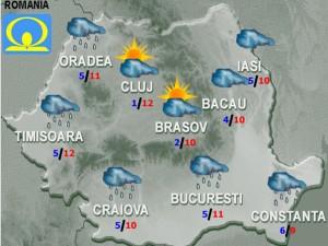 prognoza meteo vremea luni 23 februarie 2015