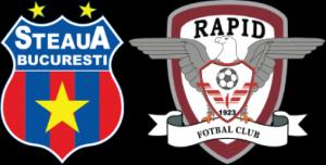 Liga I, etapa 18. Steaua - Rapid, scor 0-1