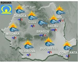 vremea marti 10 februarie meteo