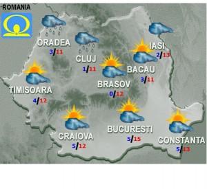 vremea meteo vineri 27 februarie