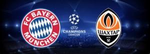 Champions League. Bayern Munchen - Sahtior