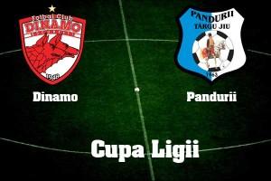 Cupa Ligii. Dinamo - Pandurii Tg Jiu