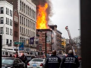 Building Explosion In Manhattan's East Village