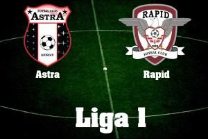 Liga I, etapa 22. Astra - Rapid