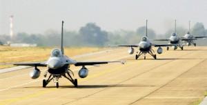 DACIAN WARHAWK - americanii vin cu aeronave F-16 la Câmpia Turzii