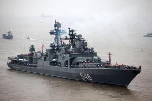 Russina-Destroyer-Admiral-Panteleyev-Visits-Shanghai