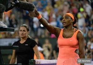 Serena Williams - Monica Niculescu, scor 6-3, 6-1