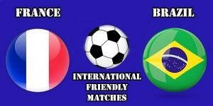 FOTBAL: Franța - Brazilia