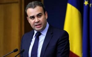Ministrul de Finaţe, Darius Vâlcov