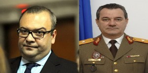 George Scutaru si generalul Ion Oprisor