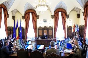 Ce s-a hotărât în prima şedinţa CSAT prezidată de Klaus Iohannis