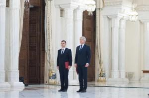 Teodorovici şi Nica au depus jurământul. Ce mesaj le-a transmis Iohannis
