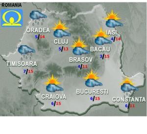 vremea prognoza meteo 2 martie 2015