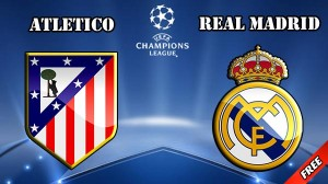 Champions League. Atletico - Real Madrid