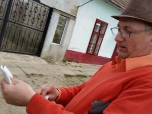 Constantin Lungu, de 43 de ani, este din satul arădean Firiteaz