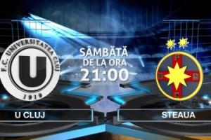 Liga 1, etapa 28. U Cluj - Steaua