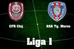 Liga I, etapa 27.  CFR Cluj - ASA Tg. Mures
