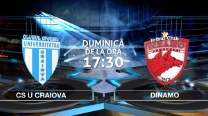 Liga I, etapa 27. CS U Craiova - Dinamo