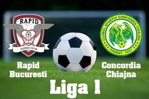 Liga I, etapa 27. Rapid - Concordia Chiajna