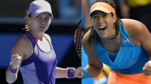Tenis, Stuttgart. Simona Halep - Garbine Muguruza (