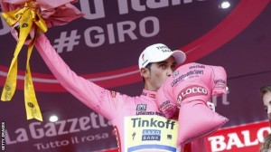 Alberto Contador giro 2015